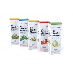 GC Tooth Mousse 35ml - ochronna pasta o potrójnym działaniu - wzmacnia, ochrania i uzupełnia (płynne szkliwo)