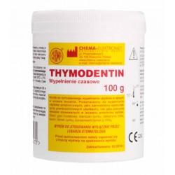 THYMODENTIN 100g - tymczasowe wypełnienie ubytków w okresie leczenia zębów.